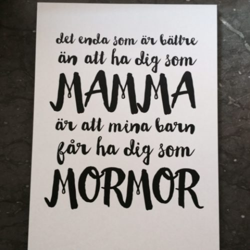 Till alla mammor