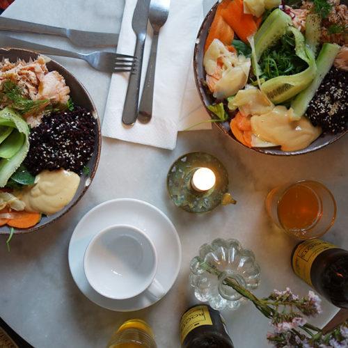 Magisk mat, fint hotell och stora krukväxter i Tournon-sur-Rhône
