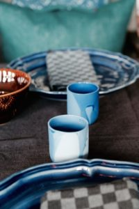 Mera blå keramik
