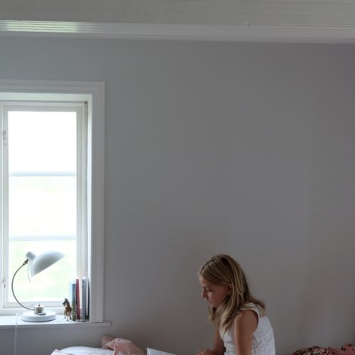 Målade väggar