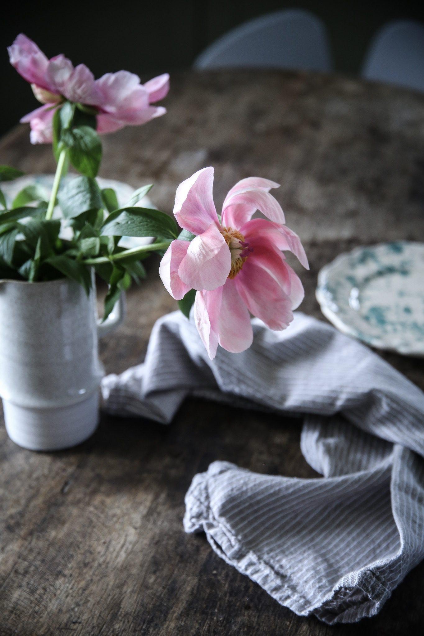 Pioner, pannkakor och prickigt porslin