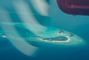 Hälsningar från Maldiverna.
