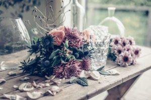 Floral feeling i fingrarna.