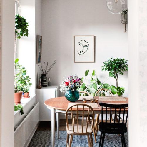 4 bilder från vårt brokiga vardagsrum