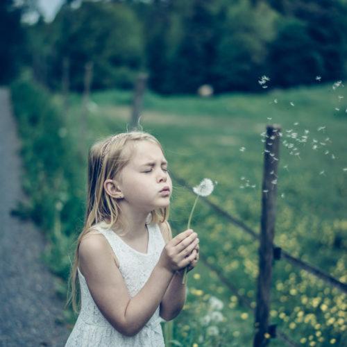 Att spara maskrosbollar & lycka.