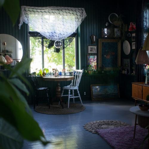 Finast i veckan; en grönskande bok, Krickelins kök och fina bäddningar