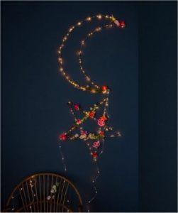 Inspiration till barnrummet med fairy lights