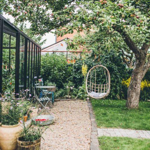 Finast i veckan; ett vintagebarnrum, en pannkakstårta och drömmen om ett växthus