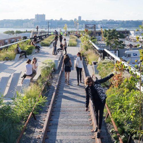Resan till New York; The High line
