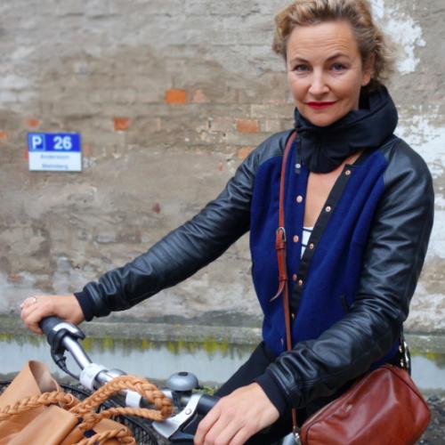 En cyklist