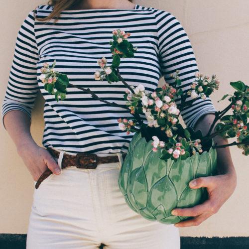 Om äppelblom och våren på Vintagefabriken