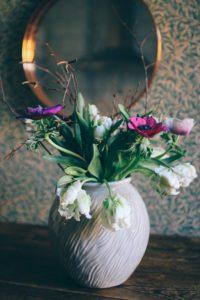 Min fredagsbukett, stress och en ny vas
