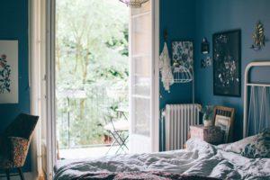 Min favoritplats just nu: vårt sovrum