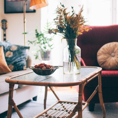 Nytt rottingbord i vårt vardagsrum