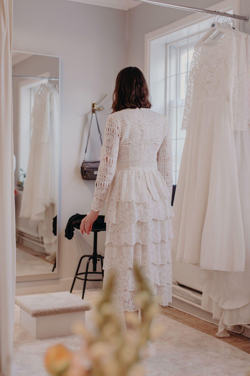 brudklänning second hand