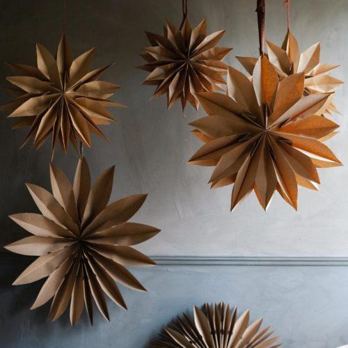 Finast i veckan; DIY adventsstjärnor, ett pepparkakshus och en blogg att följa
