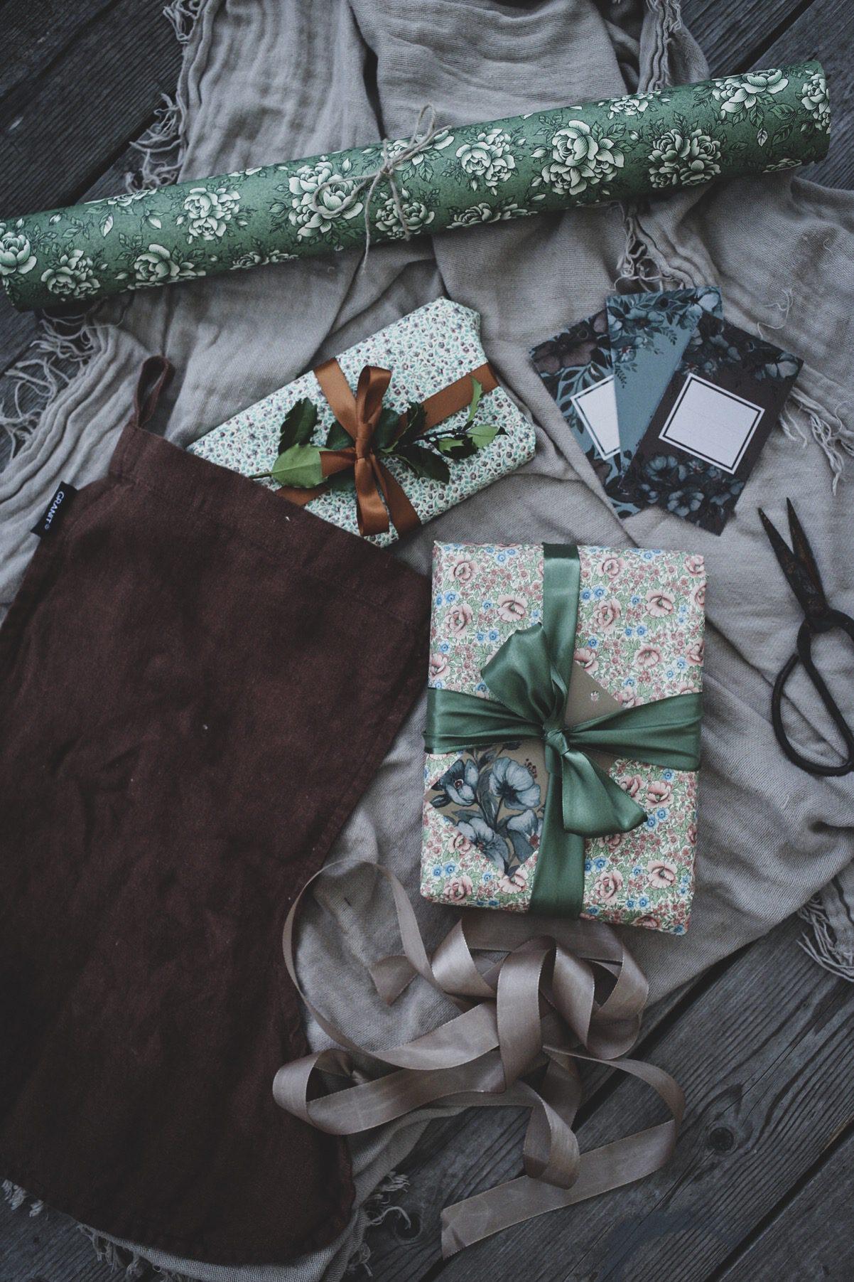 Lovely life jul advent paketinslagning