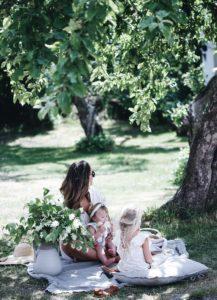 Picknick för hela familjen