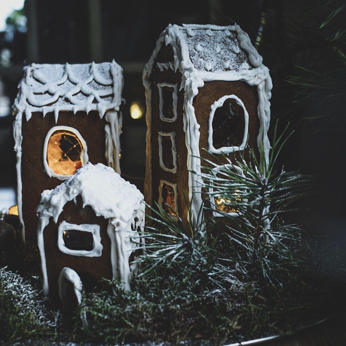 Lovely lite jul pepparkakshus