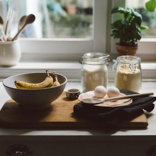 Banankaka och en ny kokbok