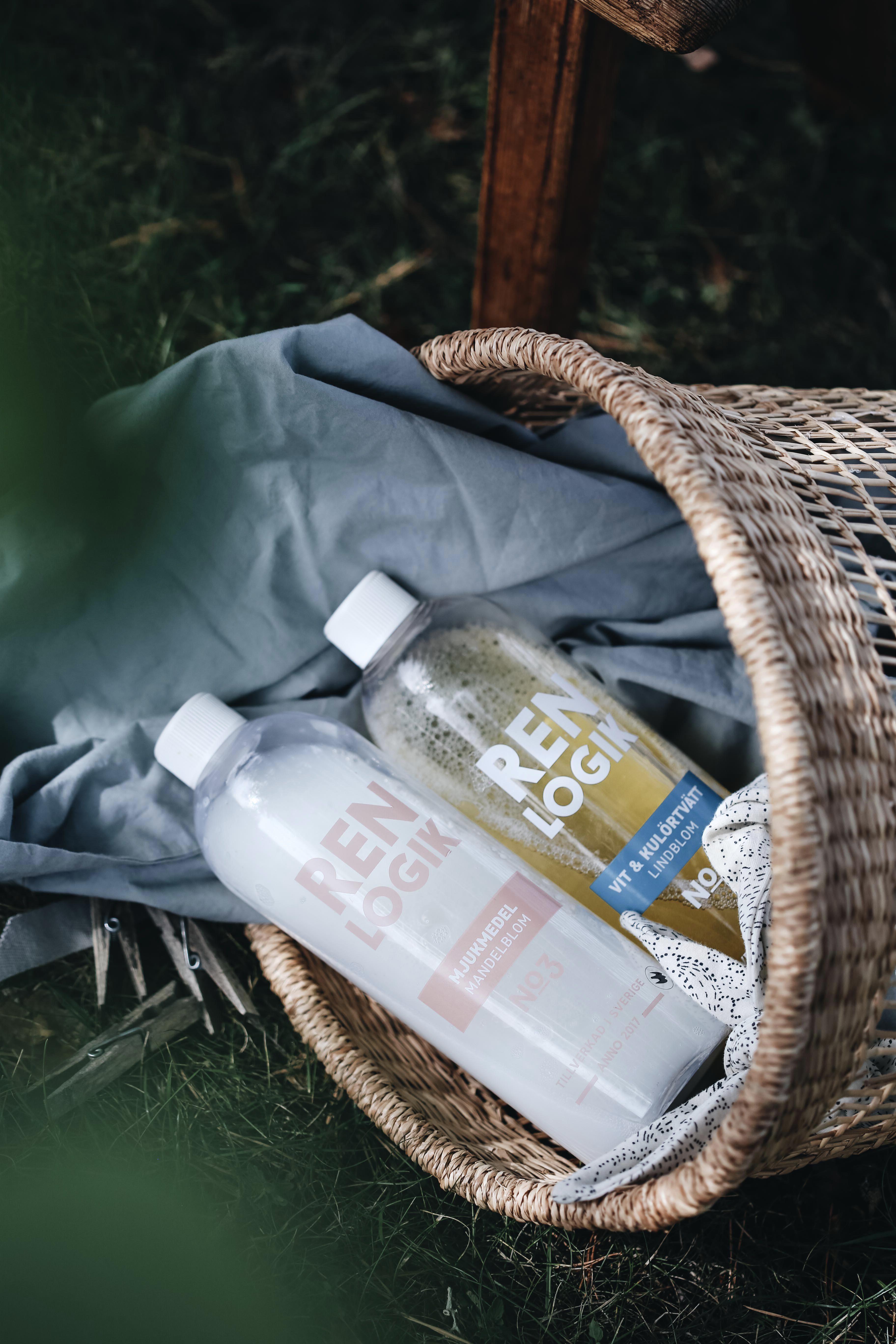 Om hållbara tvätt& städprodukter