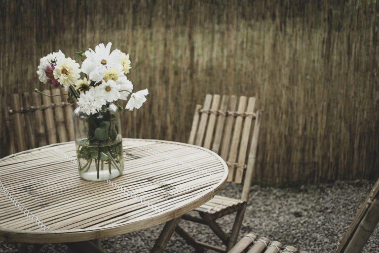 Lovely life uteplats bambuvägg