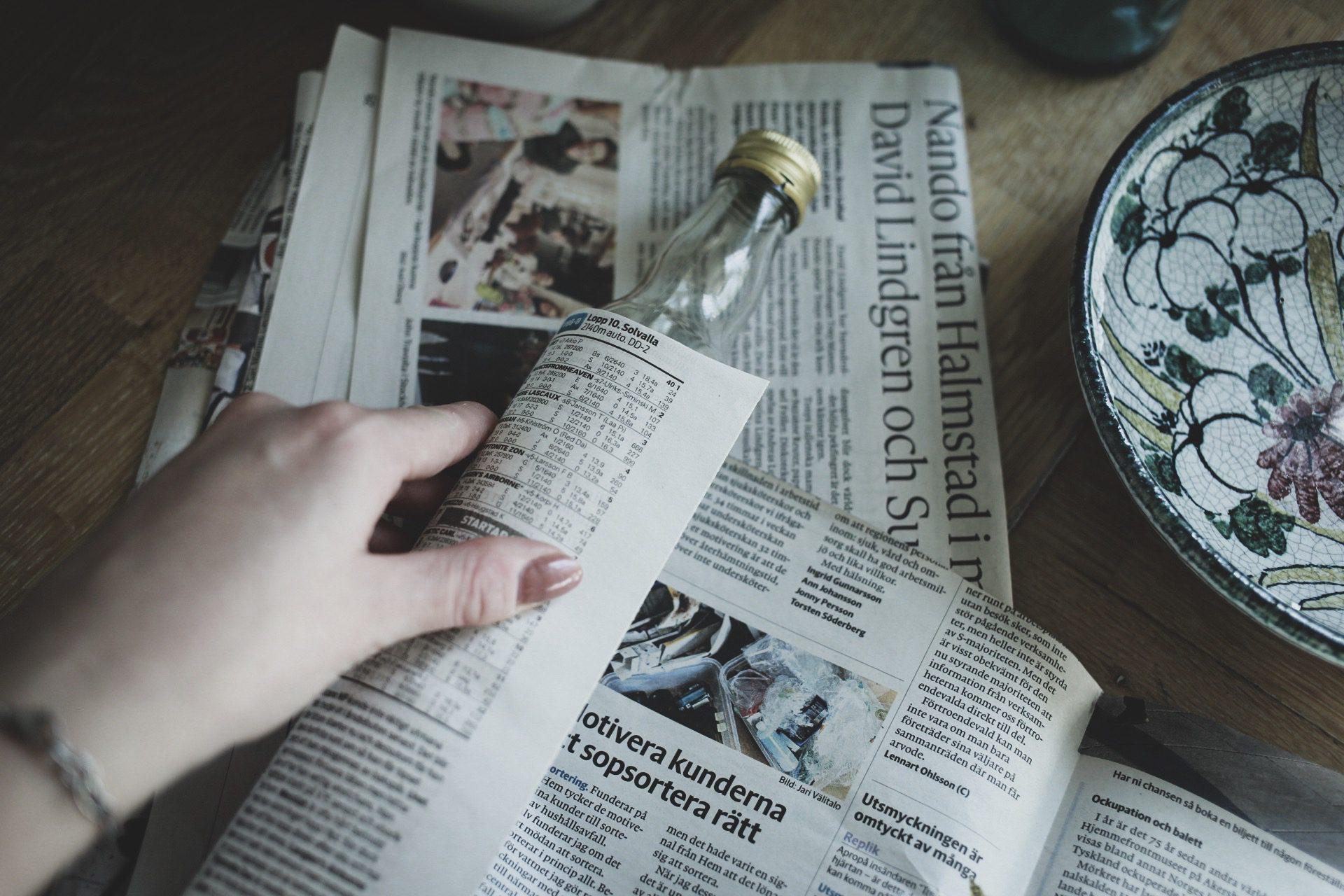 Lovelylife_diy_krukor_av_tidningspapper