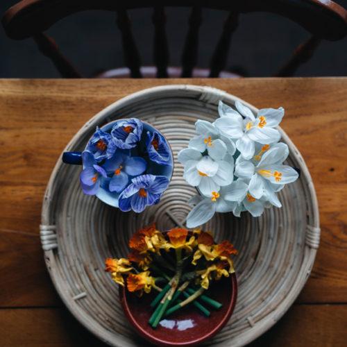 Våren nalkas oavsett kris