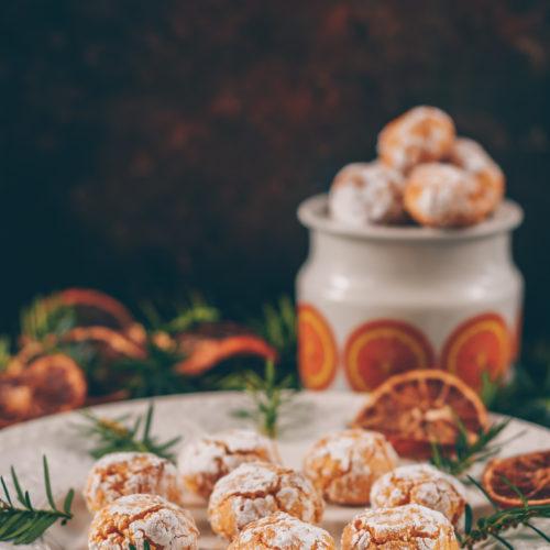 Mandelkakor med julig smak, enkla och ljuvligt goda