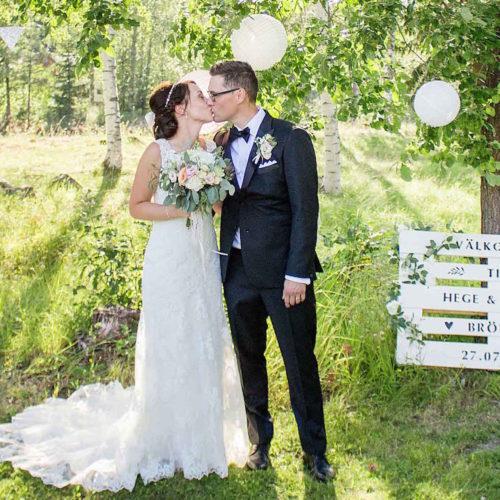 Bröllop i helgen
