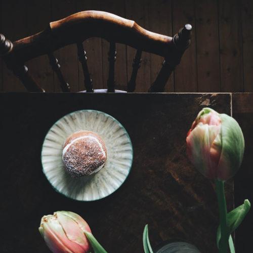Tulpaner och första semlan