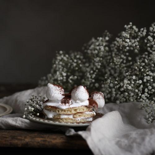 En liten pannkakstårta
