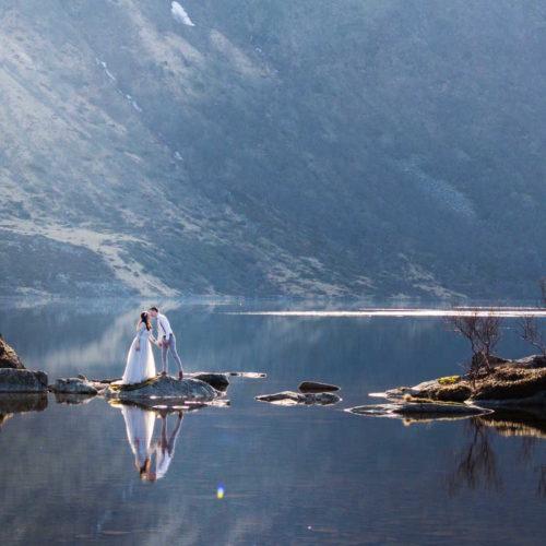 Sneak Peek Från Bröllopsworkshop i Lofoten
