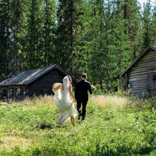 Bröllopet jag fotograferade i juli – levererat och klart
