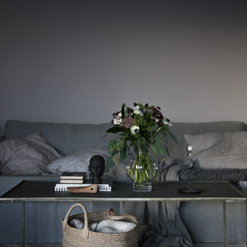 Allt om vårt gråa vardagsrum