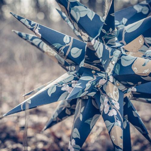 DIY – Bygg en 25-spetsad stjärna av tapet.