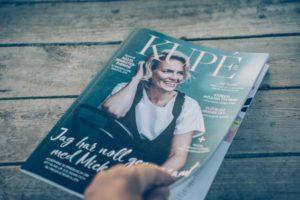Mina bilder i tidningen Kupé.
