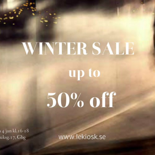 Winter sale.