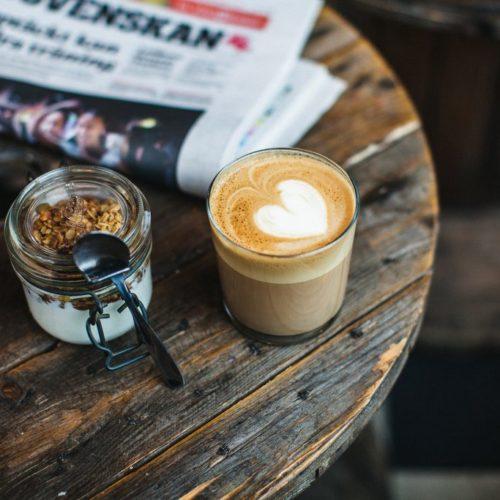 Kaffepaus i Malmö