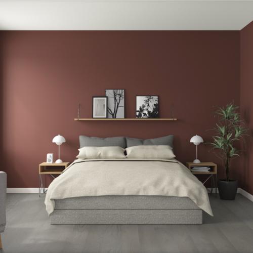 Val av färg till innerväggar i nya huset