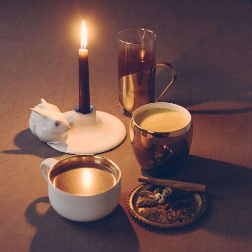 Advent, heliga kor och golden milk