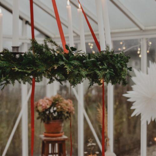 Tredje advent, lucia och en klassisk jul i växthuset