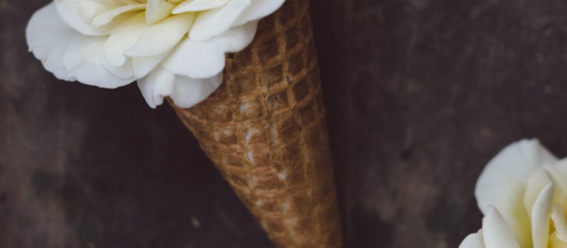 Flower ice cream by Babes in Boyland