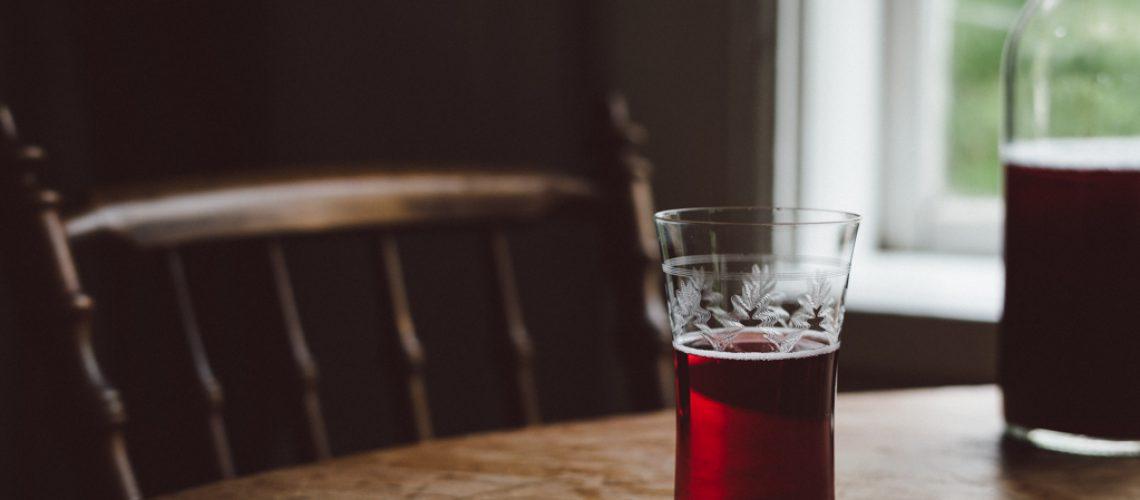 Elderberry juice by Babes in Boyland