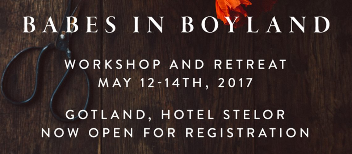 Gotland workshop and retreat by Babes in Boyland