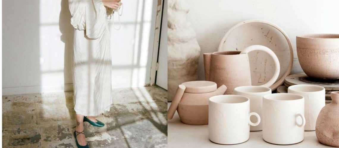 earth and blush inspiration