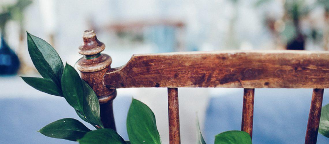 juldukning volang stol