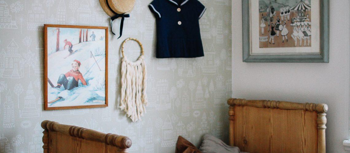 vintagefabriken styling historiska hem barnrum