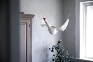 En flygande svan