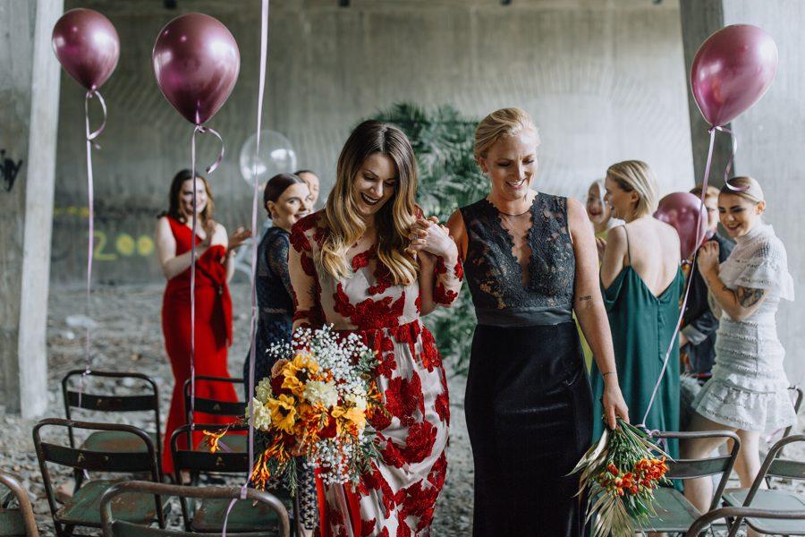 Bröllop -Under bron